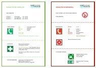 Verhalten bei Bränden und Unfällen (pdf) - Kunstakademie Münster
