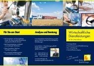 Wirtschaftliche Dienstleistungen - Lernen fördern e. V.