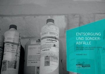 Entsorgung und Gefahrstoffe an der Kunstakademie Münster