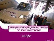 Presentación de PowerPoint - Rail Europe