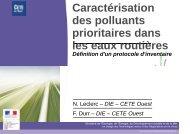 protocole d'inventaire des polluants prioritaires dans les eaux de ...