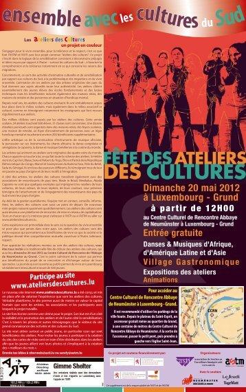 programme_fete ateliers cultures12-1 - Action Solidarité Tiers Monde