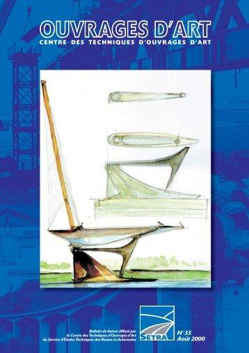 Bulletin des Ouvrages d'Art n°35 - Sétra
