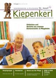Heimzeitung - Krankenhaus Maria Hilf