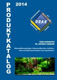 Katalog - DRAK Aquaristik