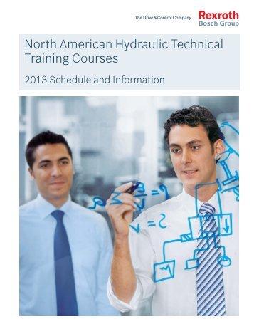 North American Hydraulic Technical Training Courses - Bosch Rexroth