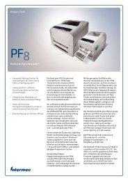 PF8 Drucker der Serie EasyCoder | Intermec - GLOBOS GmbH