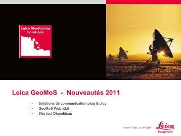 """""""GeoMonitoring: les nouveautés du marché"""" (PDF, 2978.23 KB)"""