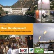 Clean Development? - Action Solidarité Tiers Monde