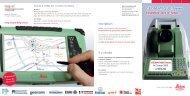 GÉOMATIQUE-News Ensemble vers le futur... - Leica Geosystems