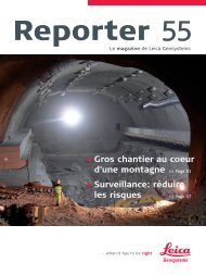 Reporter No. 55, October 2006 French (PDF, 4,3 MB) - Leica ...