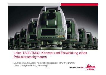 Leica TS30/TM30 - Leica Geosystems