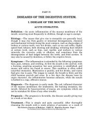 diseases of the digestive system. - Southwest School of Botanical ...