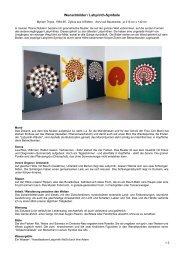 Wunschbilder / Labyrinth-Symbole - Myriam Thyes