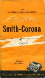 Smith Corona Electric - typewriters.ch