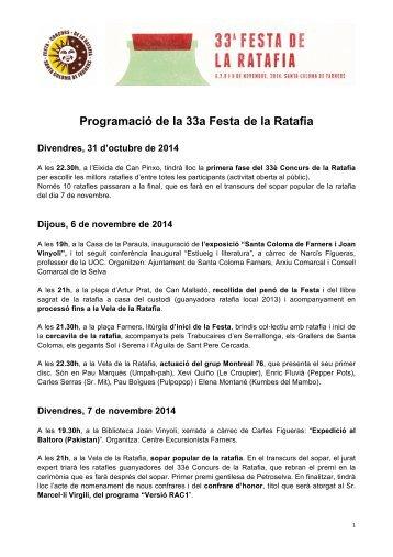 33a-Festa-de-la-Ratafia_Programació