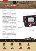 Leica Dozer- und Gradersteuerungen - Leica Geosystems - Page 3