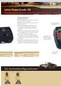 Leica Dozer- und Gradersteuerungen - Leica Geosystems - Page 5