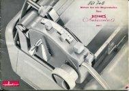 Hermes Ambassador Anleitung - typewriters.ch