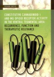 Constitutive cannabinoid 1 and mu opioid receptor ... - TI Pharma