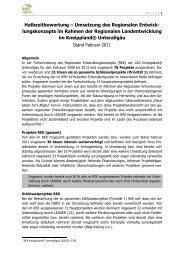 Halbzeitbewertung der Umsetzung des REKs (94 KB) - Unterallgäu ...