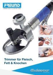 Neue Endeavour-Trimmer - FREUND