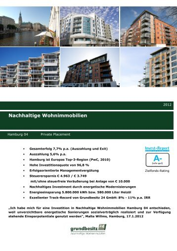 Factsheet Hamburg 04 Private Placement
