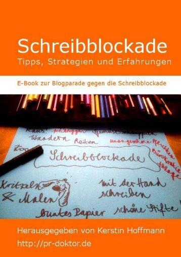 Schreibblockade - Dr. Kerstin Hoffmann Unternehmenskommunikation
