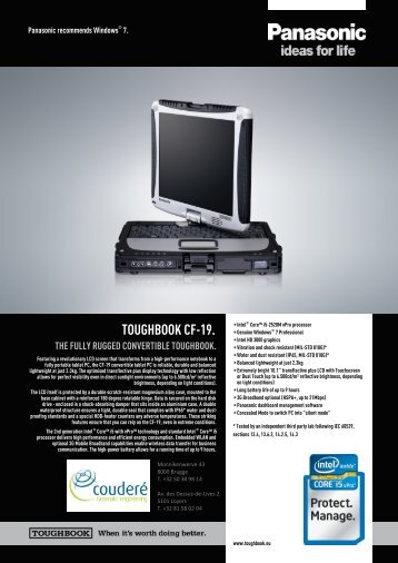TOUGHBOOK CF-19.