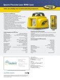 Spectra Precision Laser HV401 Laser - Page 2