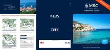 MittelMeer 2013 - MSC Kreuzfahrten