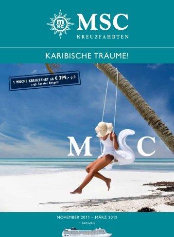 KARIBISCHE TRÄUME! - MSC Kreuzfahrten