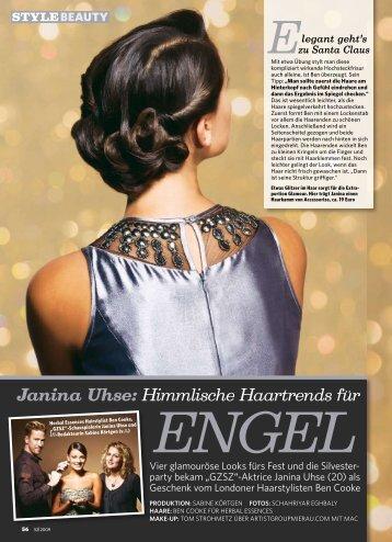 Janina Uhse: Himmlische Haartrends für EngEl