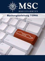 Buchungsanleitung TOMA - MSC Kreuzfahrten