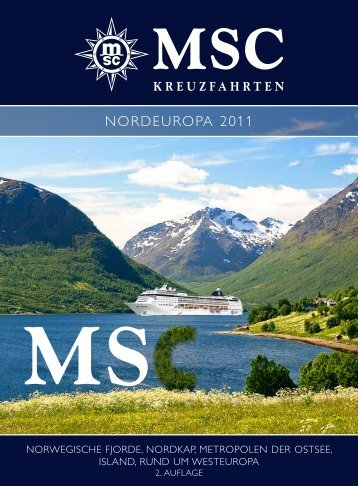Nordeuropa 2011 - MSC Kreuzfahrten