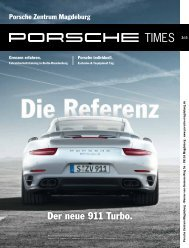 Aktuelle Porsche Times