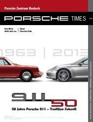 Ausgabe 1/13 - Porsche Zentrum Rostock