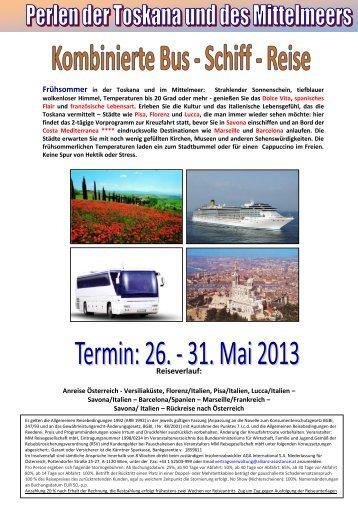 Costa Mediterranea-Krone Club-Bus-Schiff-Kombi 26 -31 05 ... - Ruefa
