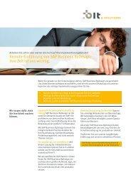 Schnell, Kompetent & Preiswert. - Unternehmensfreude