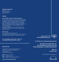 20 Jahre nach Maastricht - Gesellschaft für ...