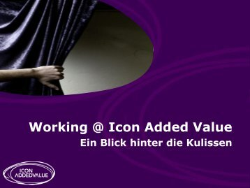 Working @ Icon Added Value
