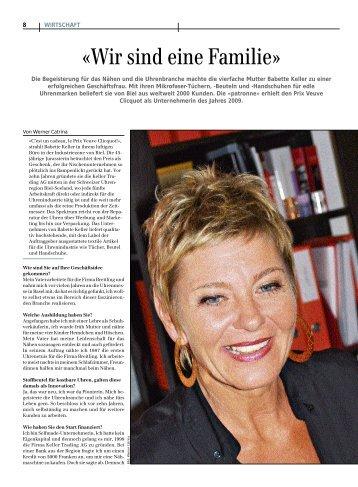 Interview mit Babette Keller - UnternehmerZeitung