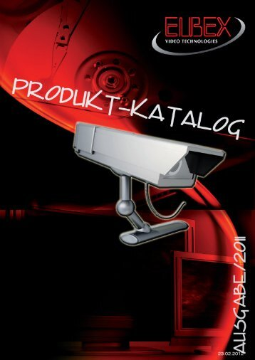 CCTV -KOMPONENTEN - ELBEX (Deutschland) GmbH