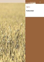 Teil V: Futtermittel - Lebensmittelüberwachung und Tiergesundheit ...