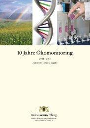 10 Jahre Ökomonitoring - Lebensmittelüberwachung und ...