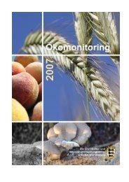 Ökomonitoring 2007 - Lebensmittelüberwachung und ...