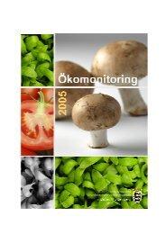 Ökomonitoringbericht 2005 - Lebensmittelüberwachung und ...