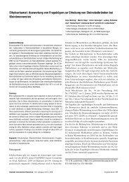 Ethylcarbamat: Auswertung von Fragebögen zur Erhebung von ...