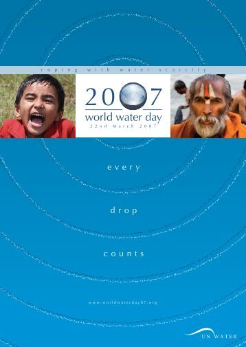 World Water Day 2007 - FAO