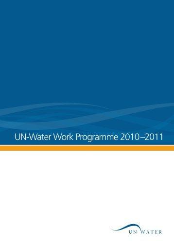 UN-Water Work Programme 2010–2011